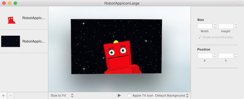 How to create Apple TV App Icons and Top Shelf Images